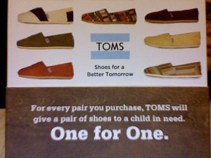 TOMS Gift Box