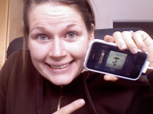 Blogger con iPhone™ con musica!