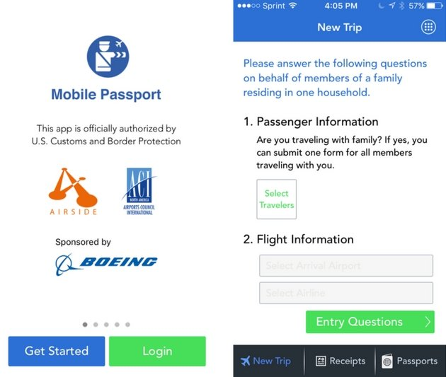 Free Apps - Mobile Passport