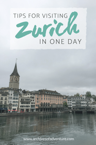 If you're planning out your Switzerland travel and trying to pack everything in, here's a great way to visit Zurich in one day.