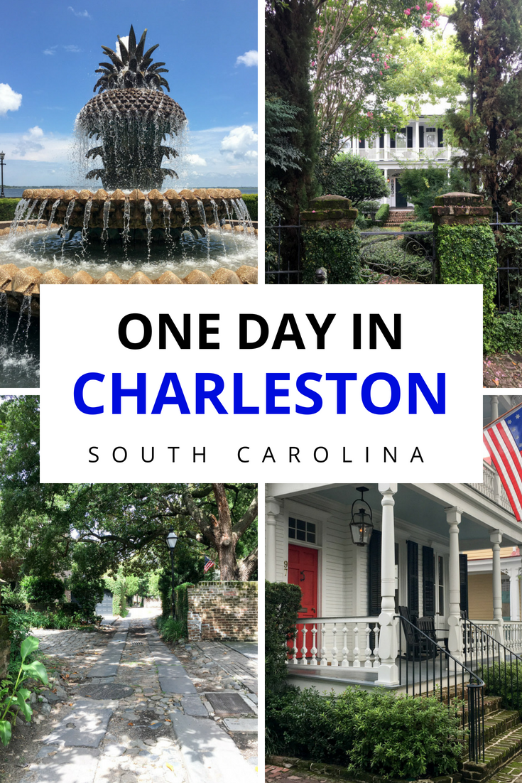 One day is just enough to whet your appetite for this charming southern city. If you only have one day in Charleston, here's what you just can't miss. Read more to find out things to do in Charleston, South Carolina in 24 hours! #Charleston #SouthCarolina #CharlestonSC