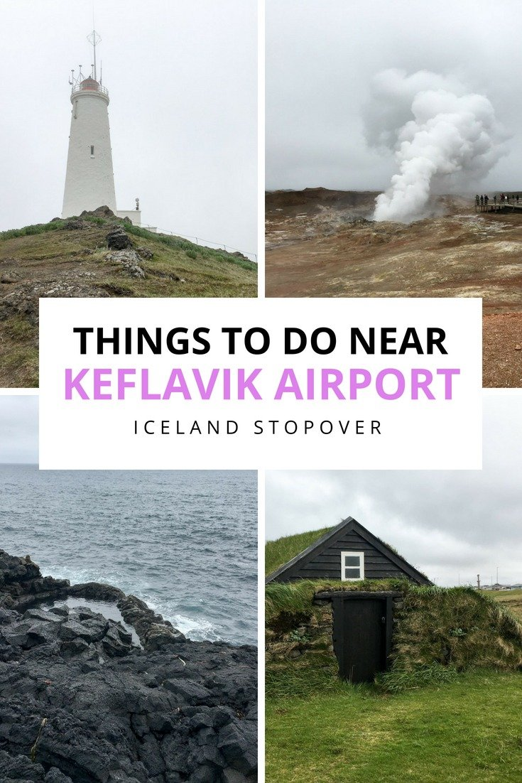 Are you planning a long layover in Iceland? Here are some fun things to do near Keflavik Airport, visting Reykjanes Peninsula on an Iceland stopover!