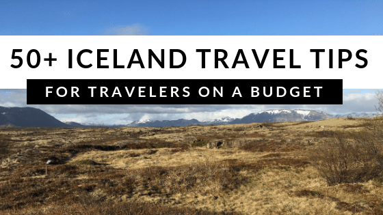 Iceland budget travel tips