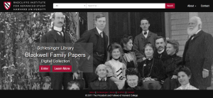 Blackwell Family Papers Digital Collections