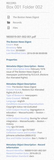 MODS metadata