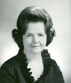Louise Day Hicks, ca.1969.