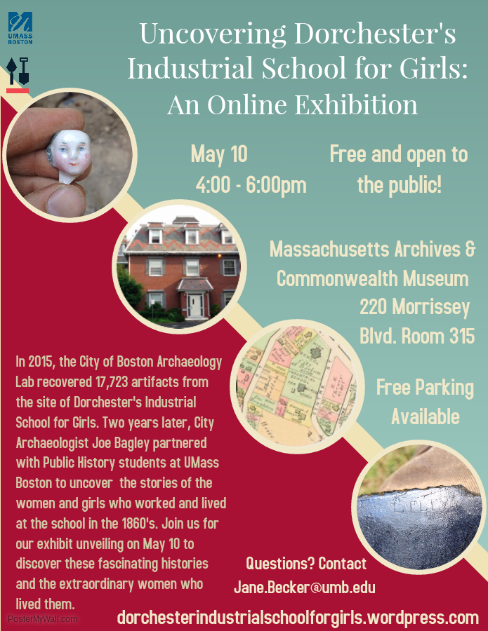 Exhibition Opening & Reception: Dorchester's Industrial School for Girls