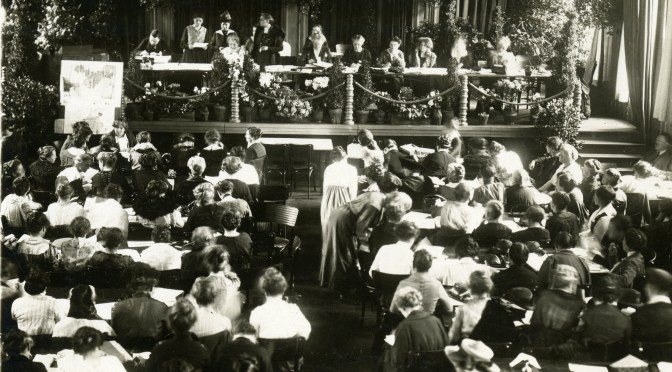 Meeting of the WILPF Zurich Congress, 1919.