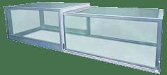 vetro strutturale, lucernario scorrevole apribile vetro