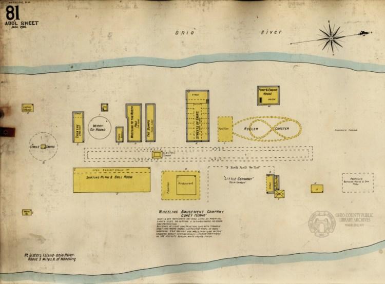 1906 Sanborn Map of Coney Island