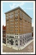 Postcard of the new Central Union Trust Co. Building -from the Postcard Collection of the OCPL Archives