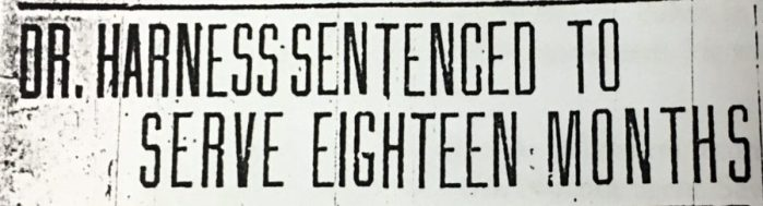 A headline that seems as though it was ripped straight from Hollywood actually comes from The Wheeling Intelligencer on November 6, 1925.