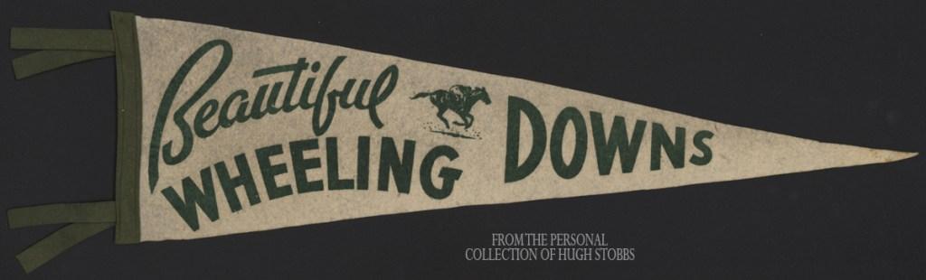 Wheeling Downs pennant, Hugh Stobbs Collection.