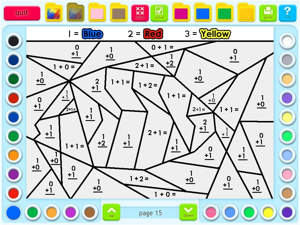8 Grand Coloriage Magique Maths Cp Image