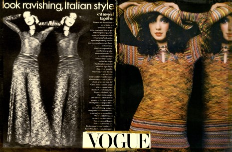 Vogue USA - Aprile '70 Ph: Barry Lategan