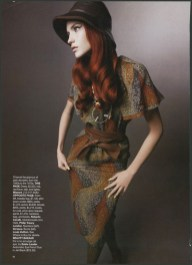 HARPER'S BAZAAR USA Ph: Sølve Sundsbø fashion editor Katie Grand