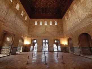 Interior del Salón de los Embajadores