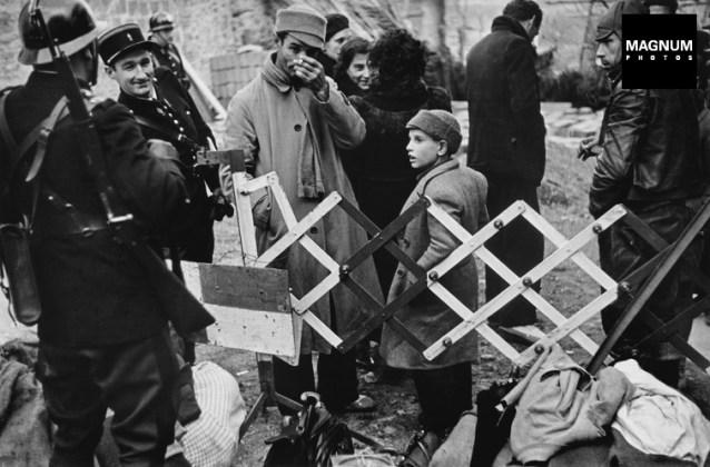 Frontera catalano-francesa en el año 1939. Robert Capa