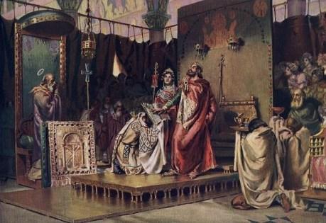 Conversión de Recaredo al catolicismo