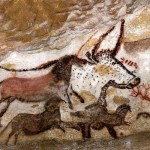 lascaux, panel del unicornio en la sala de los toros
