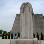 Qianling mausoleo estela Wu