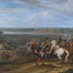 Louis_XIV_crosses_the_Rhine_at_Lobith_-_Lodewijk_XIV_trekt_bij_het_Tolhuis_bij_Lobith_de_Rijn_over,_12_juni_1672_(Adam_Frans_van_der_Meulen)