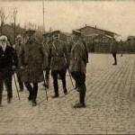 bernardino machado y General Haig 1917 visitan las tropas portuguesas