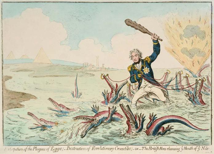 Nelson contra Francia