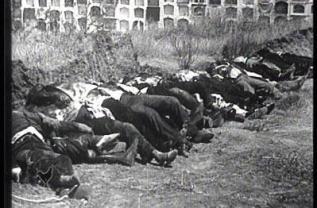 Fusilados en el cementerio de Badajoz
