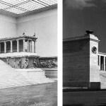 """Zeppelinfeld vor der Haupttribne auf dem Reichsparteitagsgel""""nde in Nrnberg"""