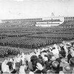 Congreso del partido nazi en la plaza zeppelin