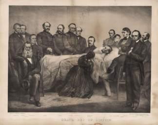 Lincoln muriendo