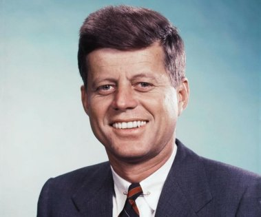 Retrato del presidente Kennedy