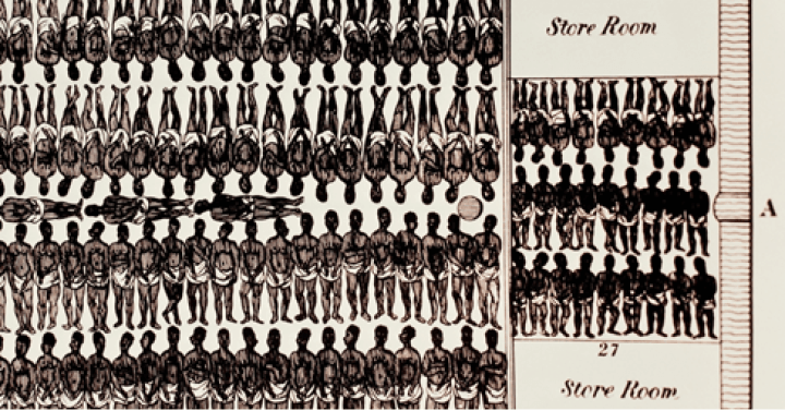 El sistema esclavista en Estados Unidos: condiciones de viaje de los esclavos