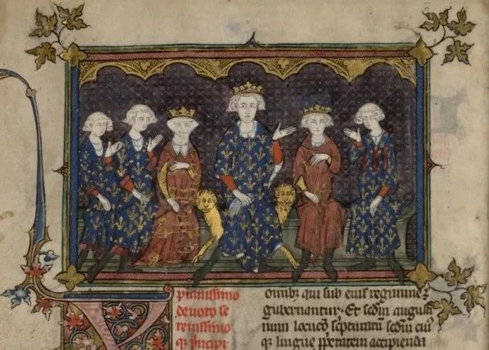 La familia de Felipe IV de Francia