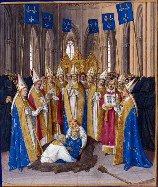 La maldición de Felipe IV de Francia - Archivos de la Historia