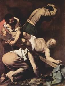 Crucifixión de San Pedro (Caravaggio)