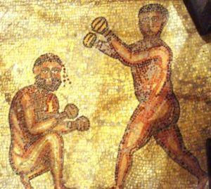 boxeadores epoca romana