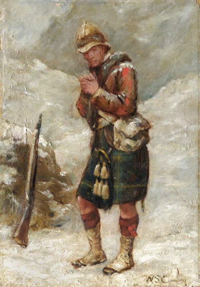 Soldado en Afganistán, William Keoch Cumming
