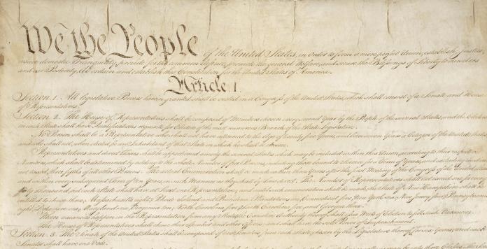 Constitución de Estados Unidos,1787.