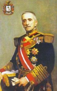 oleo Juan Bautista aznar