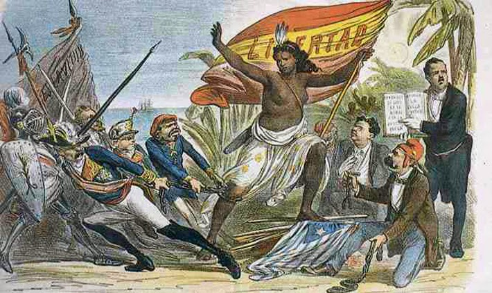 Sátira abolicionista española