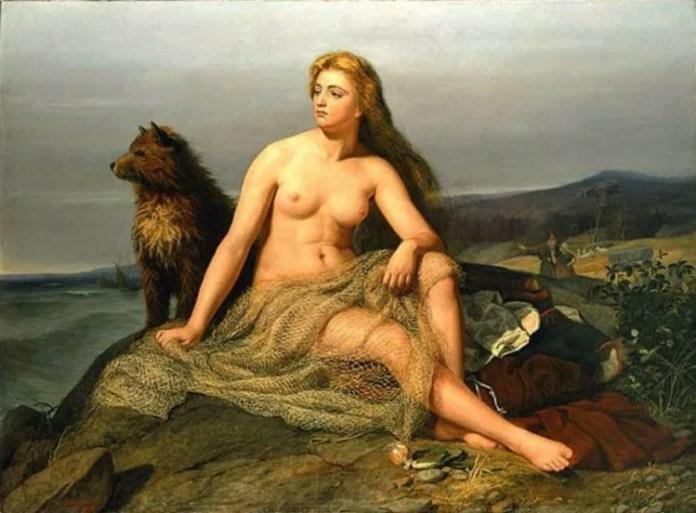 Kraka (1862) de Mårten Eskil Winge