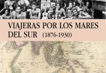 """Portada de """"Viajeras por los Mares del Sur"""", de Pilar Tejera"""
