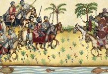 Batalla del Guadalete entre Tariq y Rodrigo (s/f) el negacionismo y la creación de Al Ándalus