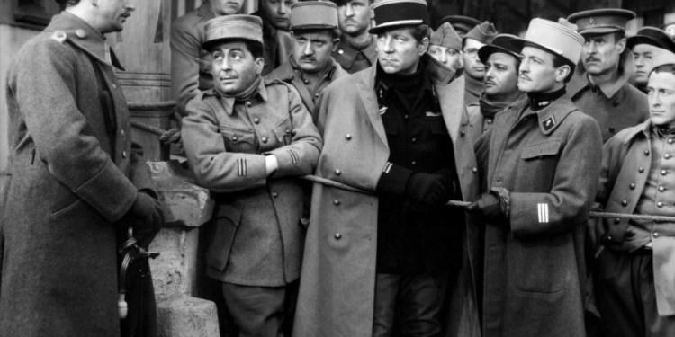 Cine de la primera guerra mundial. Fotograma de La Gran Ilusión