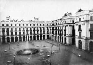 Aspecto de la Plaça Reial en 1892 (Desconocido) | La Barcelona de Antes