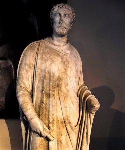 Escultura romana siglo IV, Afrodosias, Turquía.