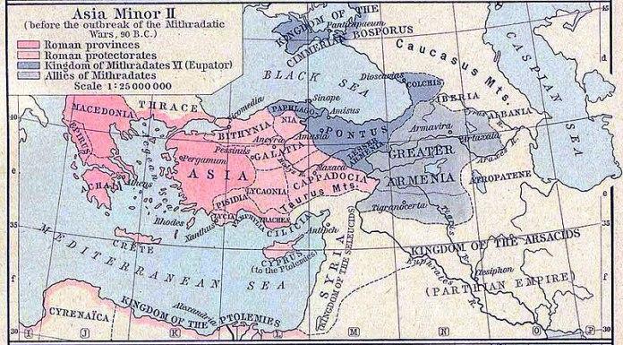 Provincias romanas en Asia
