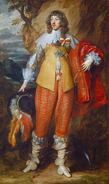 Conde de Guisa (1634), retratado por A. Van Dyck